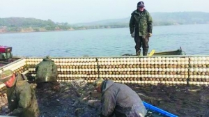 专业水库捕捞队